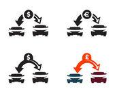 Auto. formato vettoriale — Vettoriale Stock