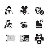 Movie. Vector format — Stock Vector