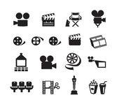 Cinema. Vector format — Stock Vector
