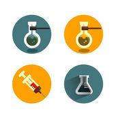 Laboratory.Vector format — Stock Vector