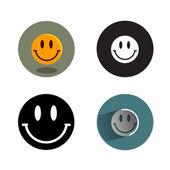 Smile.Vector format — Stock Vector