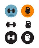 Sport icons. Vector format — Stock Vector