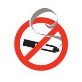 No smoking. Vector format — Stock Vector