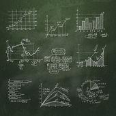 Zakelijke elementen. Vector formaat — Stockvector