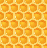 Honeycomb background - endless — Stock Vector