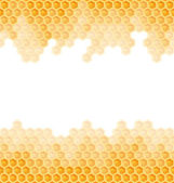 Honeycomb background - endless — Stockvektor