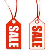 Etiqueta con venta — Vector de stock
