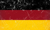 Grunge flag country - Germany — Stock Vector