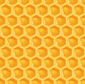 Honeycomb background endless — Vector de stock