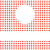 Checkered Cover Background with space for text — Stock vektor