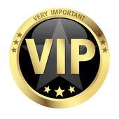 Button VIP — Stock Vector