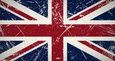 Grunge flag UK — Stock Photo