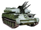 Cañón antiaéreo blindado — Foto de Stock