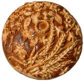 Ukraiński chleb świąteczny — Zdjęcie stockowe