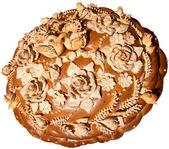 Ukrainian festive Bread — Stock Photo