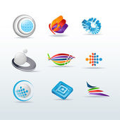 Set Of Icons Vector Illustration — Stock Vector