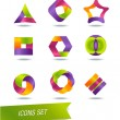 Stock Vector: Set of icons