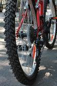 Una bici — Foto Stock