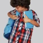 школьник — Стоковое фото #12358577