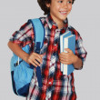 Stock Photo: Schoolboy