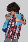 Schoolboy — Stok fotoğraf