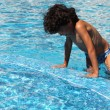 im pool — Stockfoto