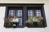 Wooden windows — Stockfoto