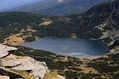 горы и озеро — Стоковое фото