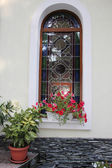 Stained window — Stock Photo