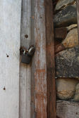 Locked door — Foto de Stock