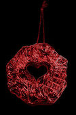 Abstract red heart — Photo