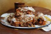 Pumpkin dessert — Zdjęcie stockowe