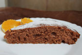 Cocoa cake — Stock Photo