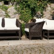 Garden furniture — Foto Stock