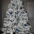 White Christmas tree — Stock Photo #36928571