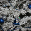White Christmas tree — Stock Photo #36928577