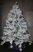 White Christmas tree — Stock Photo