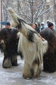 Kukeri traditional Bulgarian ritual — Stock Photo