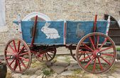 Colourful waggon — Stock Photo