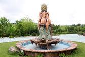 Decorative fountain — Stock Photo