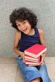 Malý čtenář — Stock fotografie