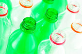 Water bottles isolated — Stock fotografie
