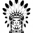 Apache native — Stockvektor #12364396