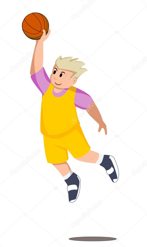 Basketball player — Stock Vector #12364526