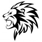 Lion roar — Stock Vector