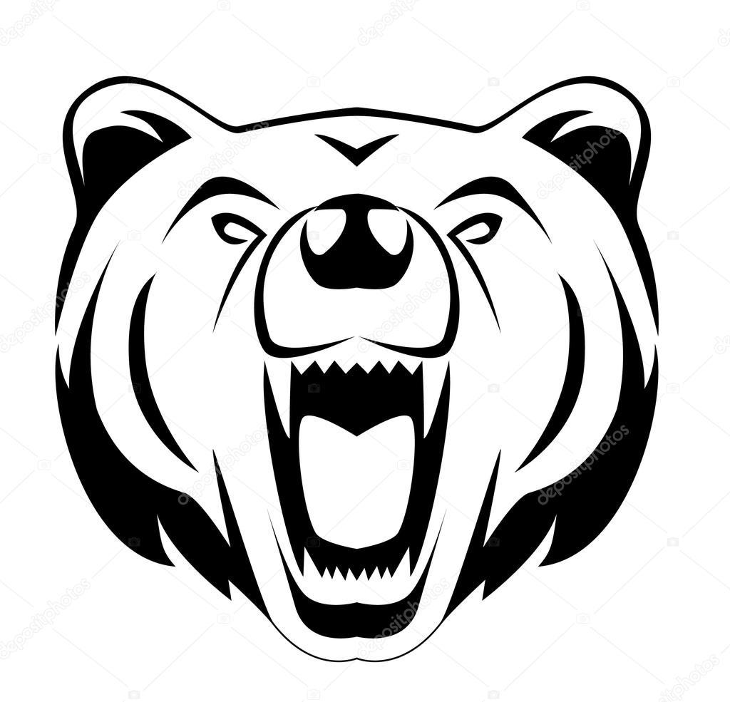 Twitter Facebook Pinterest Google PlusRoaring Bear Clip Art