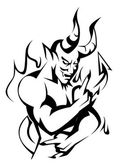 Devil vector — Stock Vector