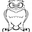 Stock Vector: Owl vector