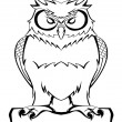 Owl vector — Stock Vector #13058515
