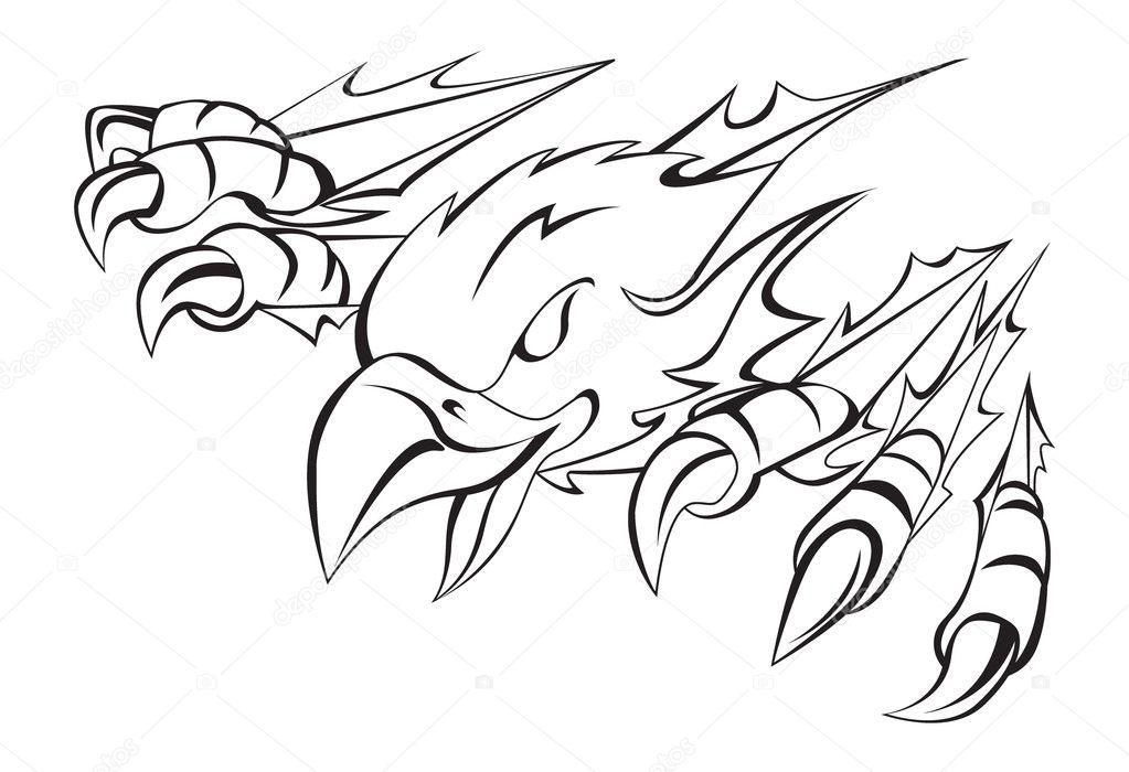 Eagle Claws Clipart Eagle Claw Clip Art 1023 x 700